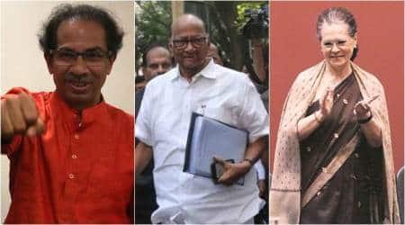 What is Maha Vikas Aghadi, Shiv Sena-Congress-NCP combina, New Maharashtra alliance, maharashtra news, Indian express news