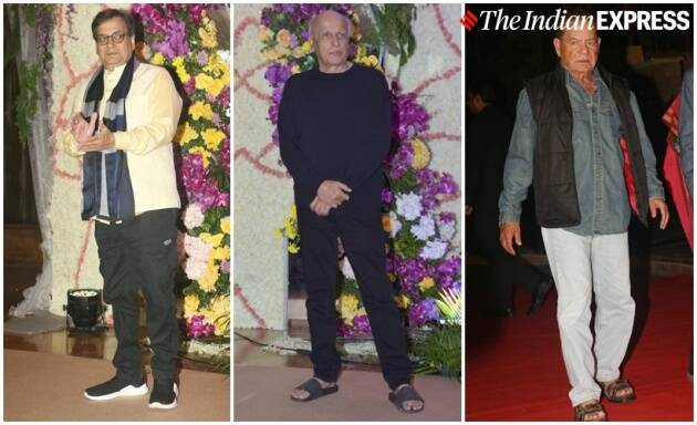 Mahesh Bhatt, Subhash Ghai and Samil Khan