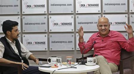 Manish Sisodia, Manish Sisodia AAp, Manish Sisodia Idea Exchange, Idea Exchange, AAP Manish Sisodia, Delhi elections, Delhi elections 2020, 2020 Delhi elections, Manish Sisodia interview, India news, Indian Express