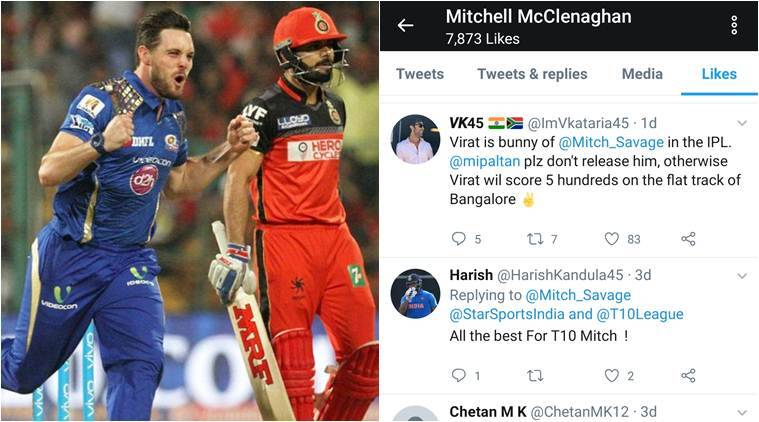 Mitchell McClenaghan made his IPL debut for Mumbai Indians in 2015 (File photo)