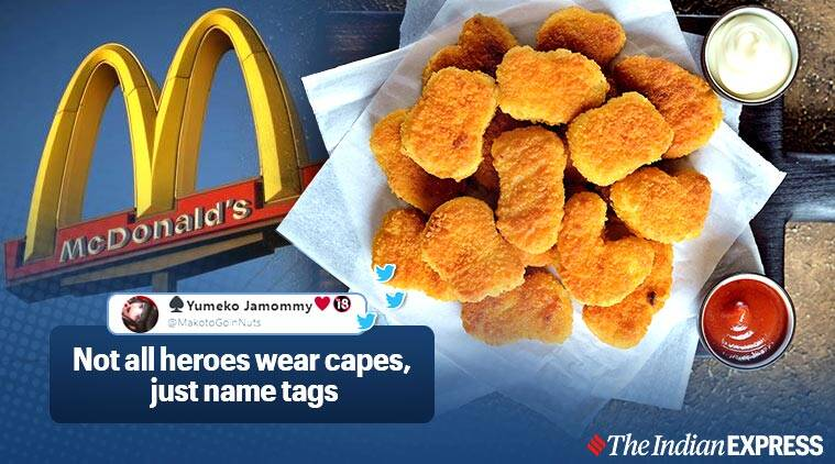 McDonald's employee confesses he gave out 11 nuggets for very 10 piece he made, McDonald's, Trending, Indian Express news