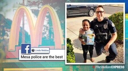 Boy calls 911 dispatch for McDonald's delivery, Arizona, McDonald's, Happy Meal, Trending, Indian Express news