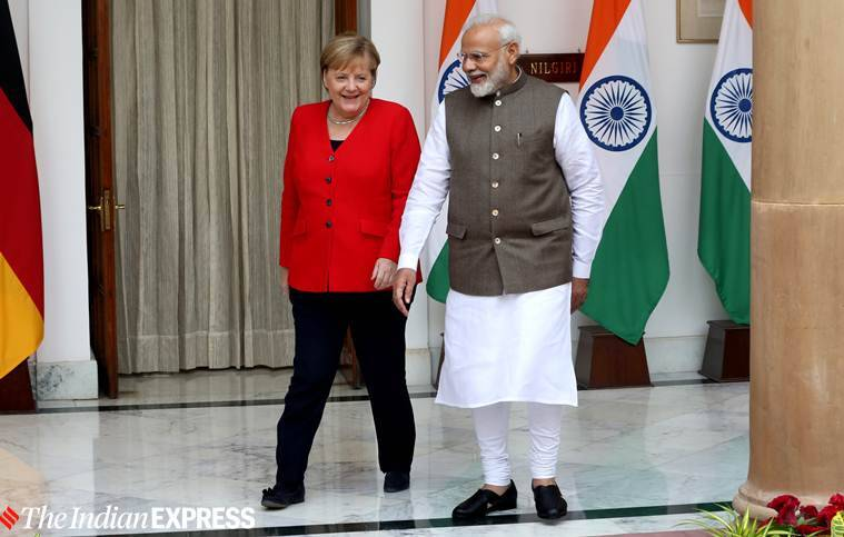 With India against terror, will talk Kashmir with PM Modi: Angela Merkel