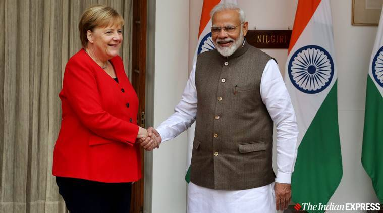 PM Modi, Germany's Merkel discuss collaboration, raise issue of medical gap