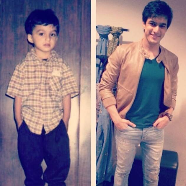 Mohsin Khan then and now