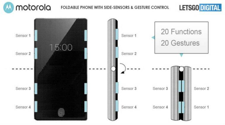 Motorola patent hints at razr 2 with touch sensors on the edges