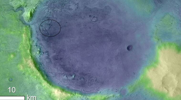 Nasas mars 2020 rover will hunt for ancient life in jezero crater