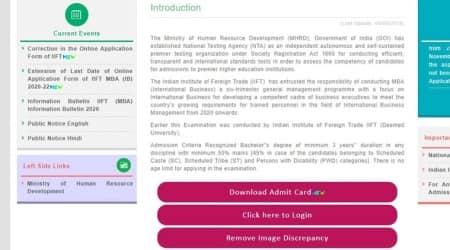 iift.ac.in, iift, iift admit card 2019, iift identity card, iift 2020 exam date, iift 2020 exam centres, iift.ac.in 2020