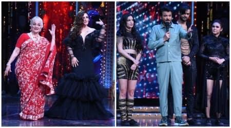 Nach Baliye 9 finale, Asha Parekh, Zeenat Aman, Anil Kapoor
