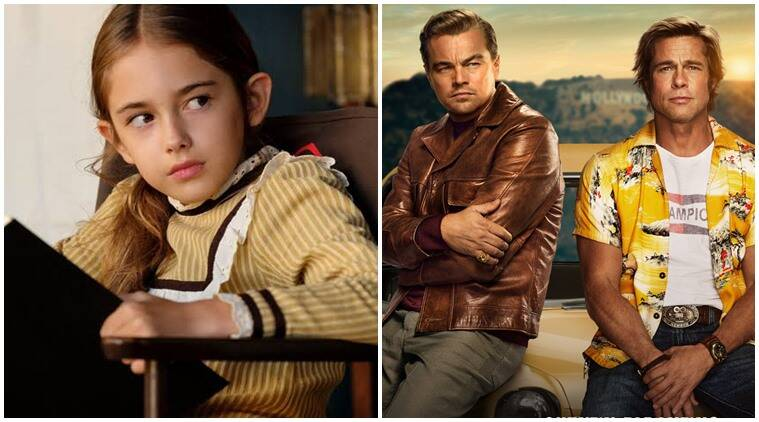 Once Upon a Time in Hollywood child actor Julia Butters Leonardo DiCaprio, Brad Pitt