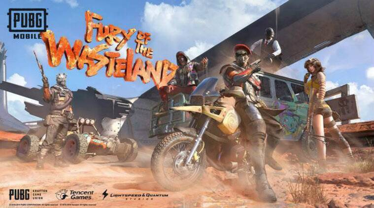 PUBG Mobile, PUBG Mobile Season 10, PUBG Mobile Season 10 The Fury of the Wasteland, PUBG Mobile 0.15.5 update
