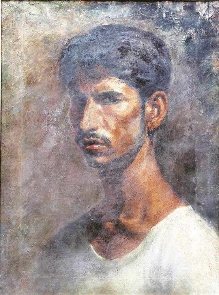 Jogen Chowdhury, art, art exhibition, Eye 2019, Sunday Eye, Indian Express, Indian Express news