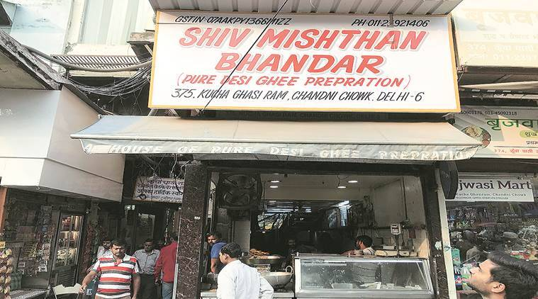 Shiv Mishthan Bhandar, Old Delhi, food, Eye 2019, Sunday Eye, Indian Express news