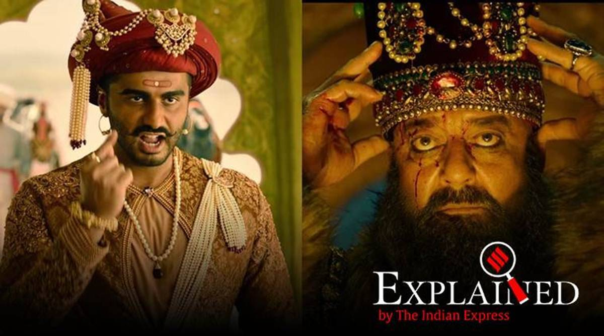 Explained: What is Hindi film 'Panipat' about, and who plays which part? |  Explained News,The Indian Express