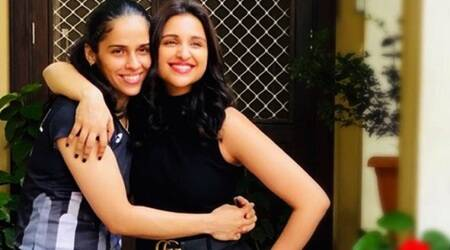Parineeti Chopra comeback badminton court neck injury Saina Nehwal biopic