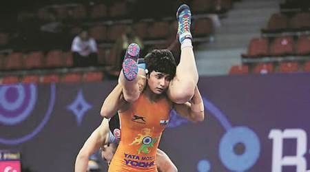 Pooja Gehlot, Pooja Gehlot women wrestling, women wrestling india, Pooja Gehlot women wrestler india, indian express news