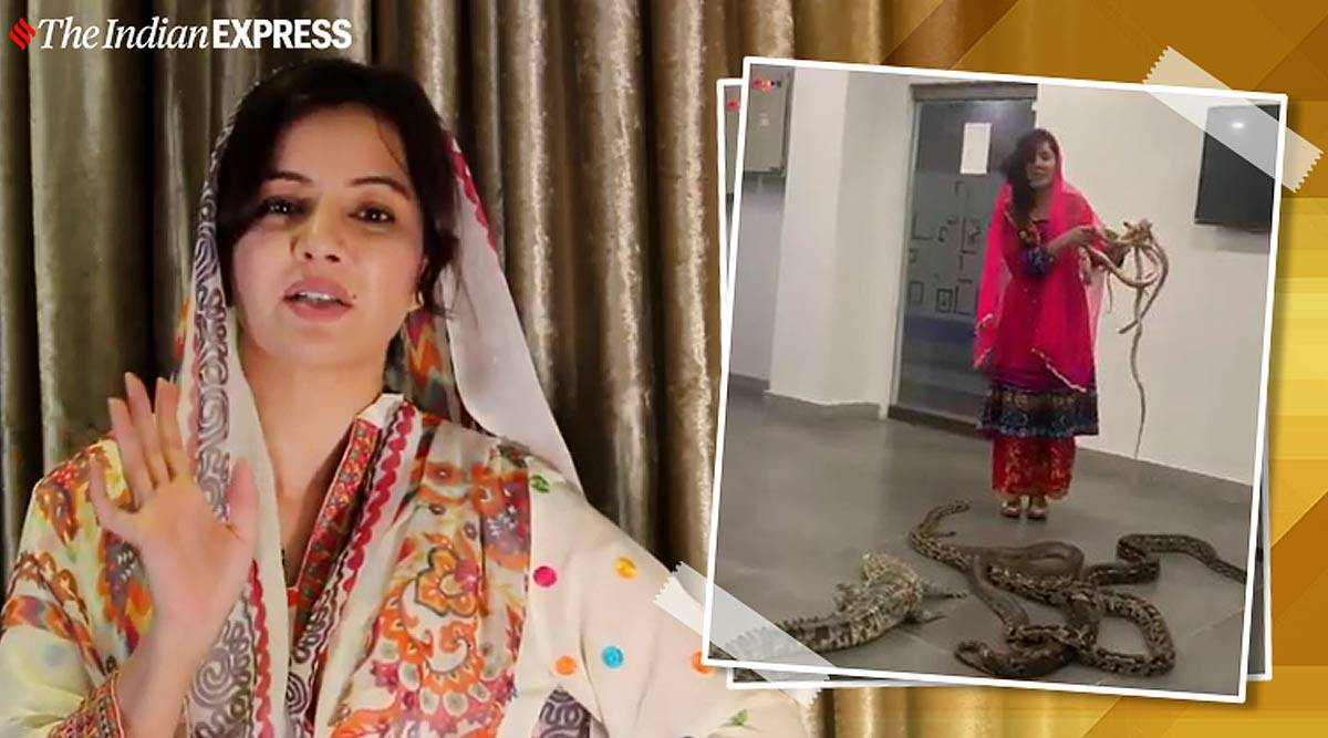 Netizens Come In Support Of Pakistani Singer Rabi Pirzada After Intimate Images Get Leaked Trending News The Indian Express