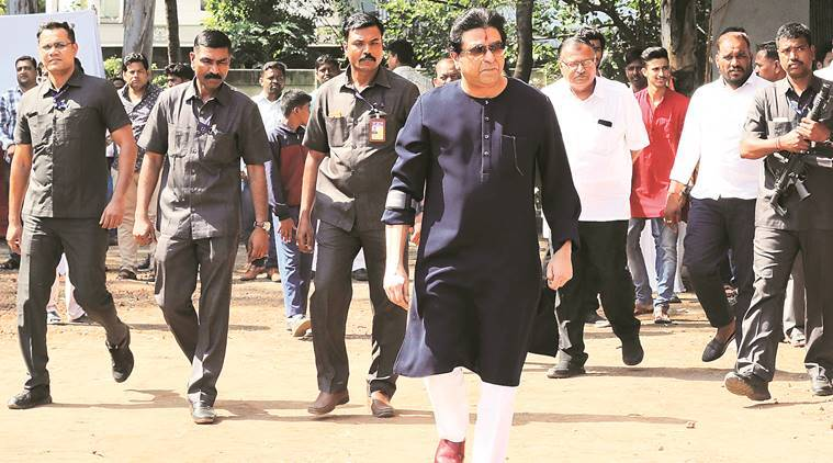 MNS chief Raj Thackeray visits Kataria High School on Saturday