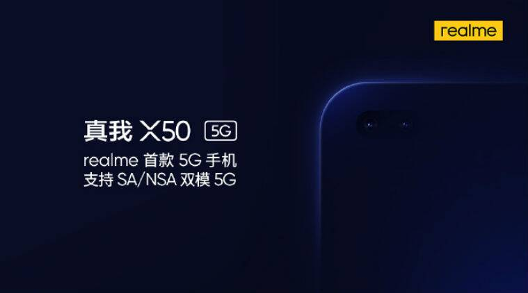 Realme X50 5G to Come with Dual Selfie Cameras, Launch Expected Soon