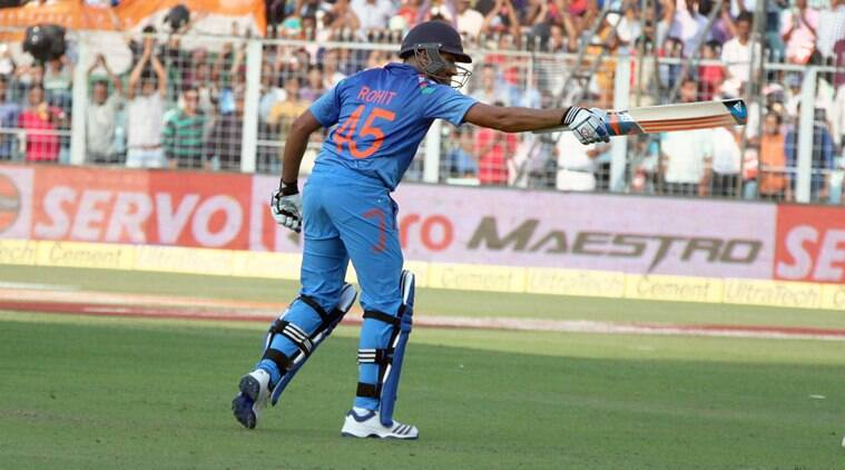 Rohit Sharma 264, Rohit Sharma double century, Rohit Sharma 264 vs Sri Lanka, Rohit Sharma 264 video, MS Dhoni Rohit Sharma, India vs Sri Lanka 4th ODI 2014, Rohit Sharma ODI records, Most fours in an innings