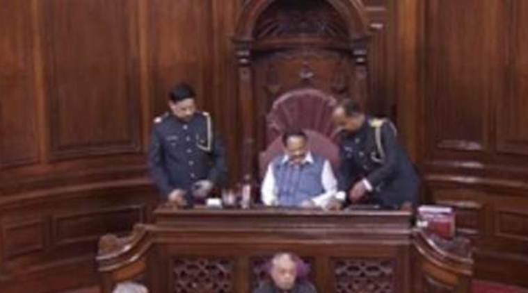 Rajya Sabha marshals, Rajya Sabha marshal uniforms, Rajya Sabha marshals uniform reviewed, Rajya Sabha marshals new uniform, Rajya Sabha live, Lok Sabha live, India news, Indian Express