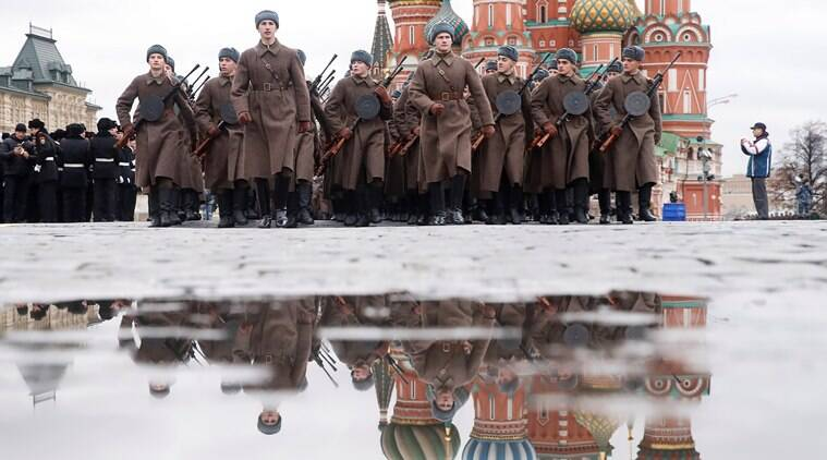 Russia World War, World War II, World War II Russia, Russia World War enactment, World news Indian Express
