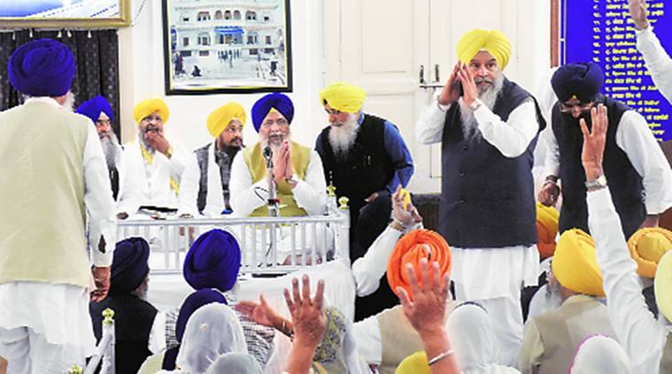 After oppn walkout, Longowal elected unanimously as SGPC president again