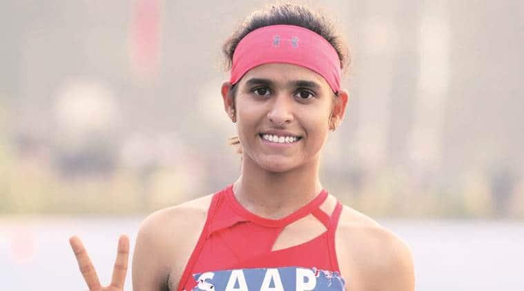 Shaili Singh, Shaili Singh long jump, Shaili Singh under 16 record, anju bobby george