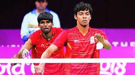 Satwiksairaj Rankireddy, Chirag Shetty, Chirag Shetty badminton india, Satwiksairaj Rankireddy india, india badminton olympic 2020, olympic 2020, indian express sports news