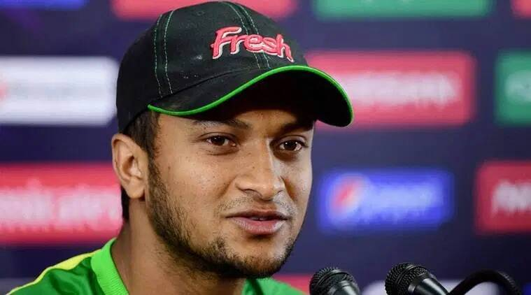 Shakib al Hasan Ban, Bangladesh India tour, Shakib Al Hasan ICC ban bangladesh, Bangladesh cricket, India Bangladesh T20 series, Indian Express news, Cricket news