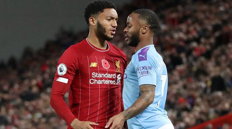 Raheem Stirling, Joe Gomez, Stirling Gomez fight, Liverpool vs Manchester City, EPL 2019, Raheem Stirling FA Cup, football news