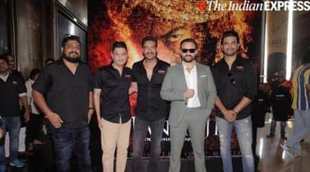 Tanhaji trailer launch saif ali khan ajay devgn