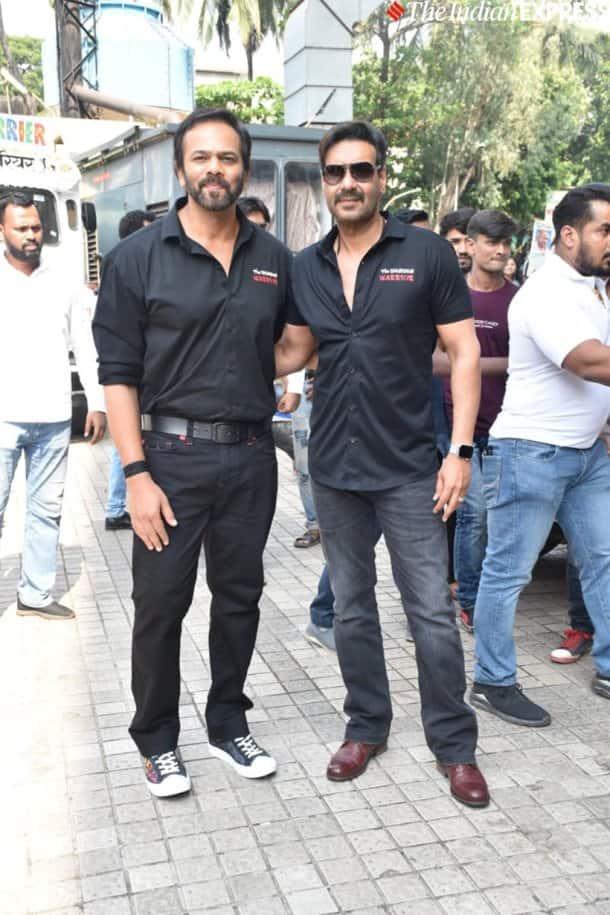 rohit shetty at Tanhaji trailer launch