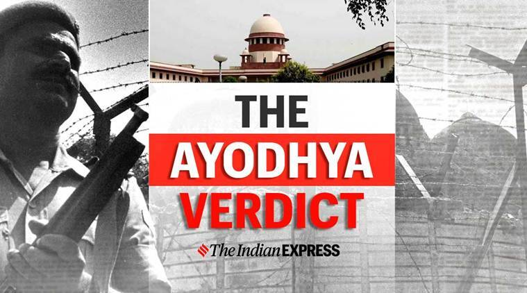 Ayodhya Verdict Full Text India News The Indian Express