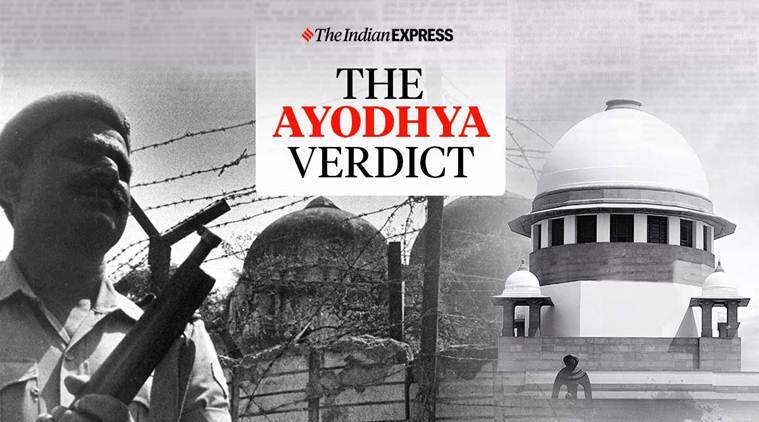 SC verdict on Ayodhya dispute: Temple at disputed site, alternative land for mosque