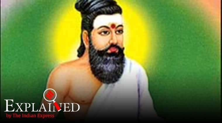 Thiruvalluvar, Thiruvalluvar statue, Thiruvalluvar news, BJP Thiruvalluvar statue, DMK, BJP, India news, Tamil nadu news, Chennai news