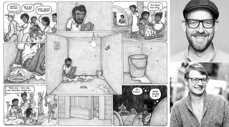 sri lankan civil war, benjamin dix graphic novel, benjamin dix sri lankan civil war
