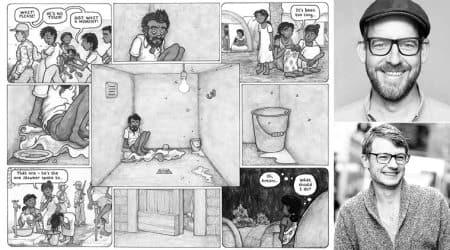 sri lankan civil war, benjamin dix graphic novel, benjamin dix sri lankan civil war