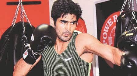Vijender Singh, boxer Vijender Singh, Pro boxing Vijender Singh, Vijender eyeing pro bout
