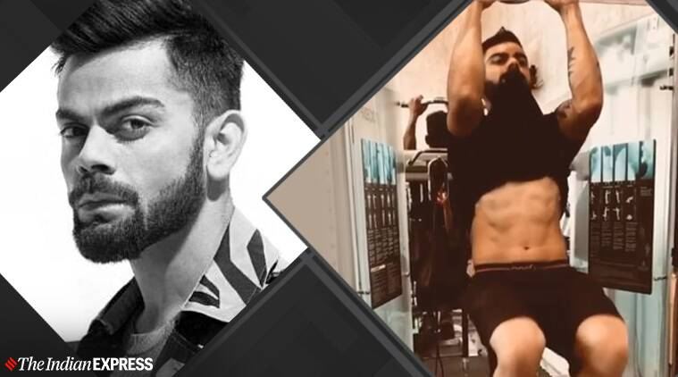 virat kohli, fitness, celeb fitness, indianexpress.com, indianexpress, virat kohli fitness goals, virat kohli news, fitness goals, pull-ups, benefits of pull-ups,