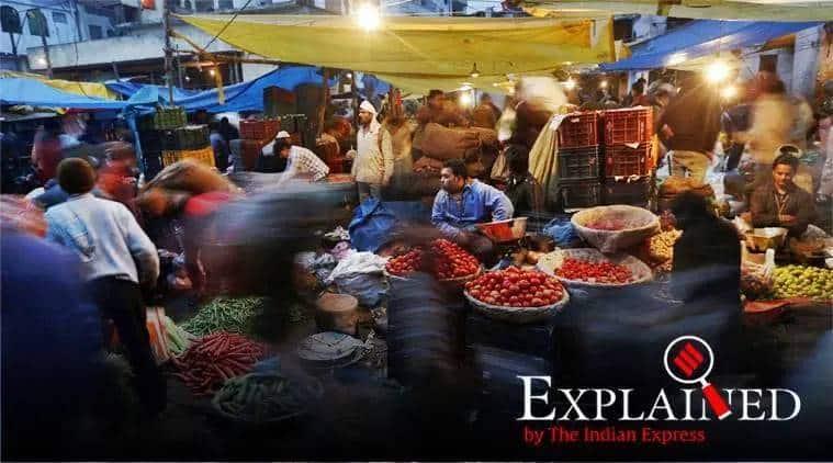 wholesale inflation india, retail inflation october, Economic slowdown India, WPI October, WPI india, indian express, express explained