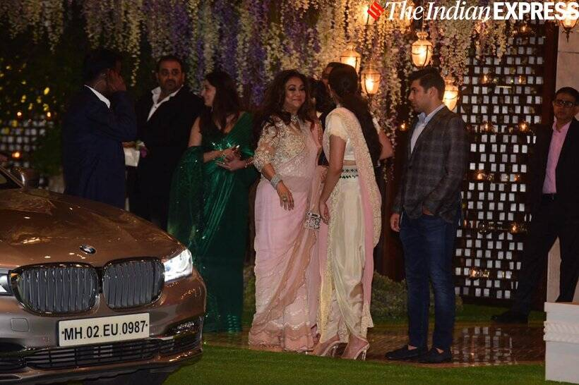 Tina Ambani and Anil Ambani at Ambani party