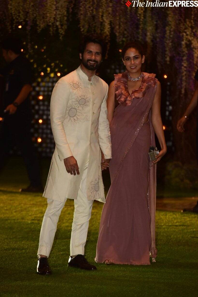 shahid kapoor mira rajput photo