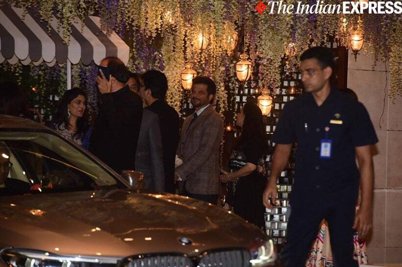 anil kapoor at ambani bash