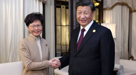 Xi Jinping meets Carrie Lam in 'vote of confidence' over Hong Kong protests