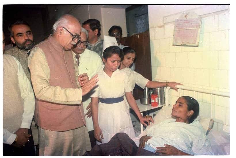 BJP stalwart Lal Krishna Advani turns 92