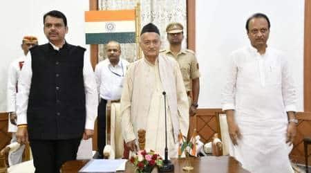 Maharashtra govt formation, Maharashtra political crisis, Maharashtra politics, Maharashtra govt, Devendra Fadnavis, Ajit Pawar, Maharashtra news, India news, Indian Express