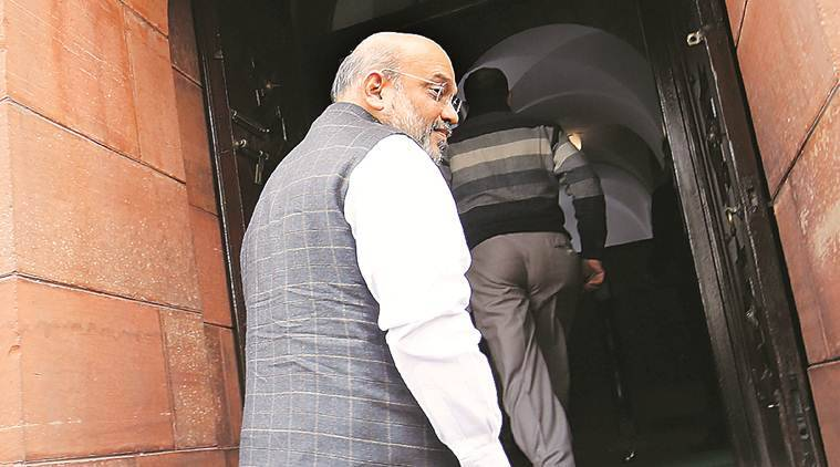 Amit Shah: J&K admn to decide on political leaders' release
