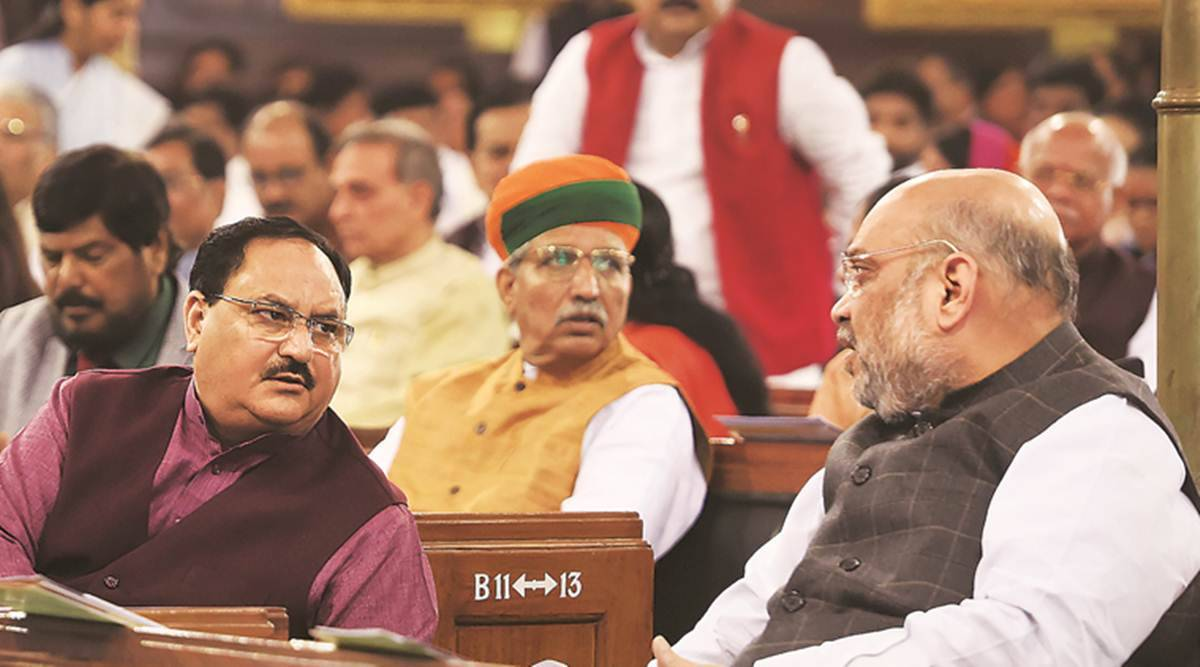 Eye on 2022 polls, Nadda begins meetings with Union ministers