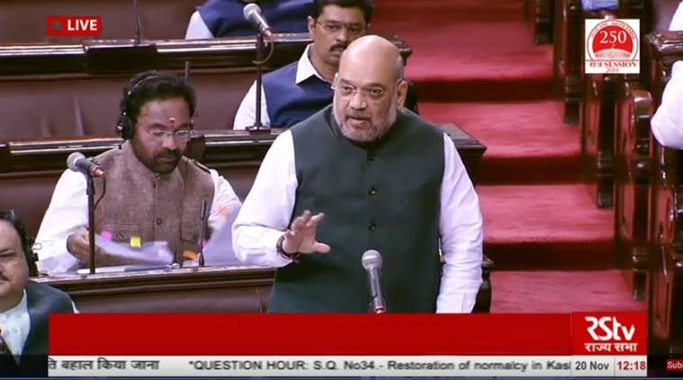 Amit Shah says J&K situation 'normal', internet to be restored at apt time